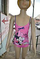 """Купальник Disney """"Minnie Mouse"""" слитный 6-23 месяцей фиолетовый"""