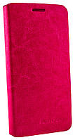 Чехол книжка для Lenovo Vibe X2 с силиконом розовый
