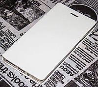Чехол книжка для Lenovo Vibe X2 с силиконом белый