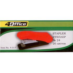Степлера 4Office 4-317 микс №24/6 20л