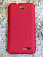 Чехол Nillkin Matte для Lenovo A526 (+ пленка) красный