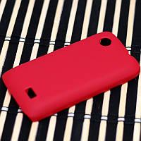 Чехол Nillkin Matte для Lenovo A369i (+ пленка) красный