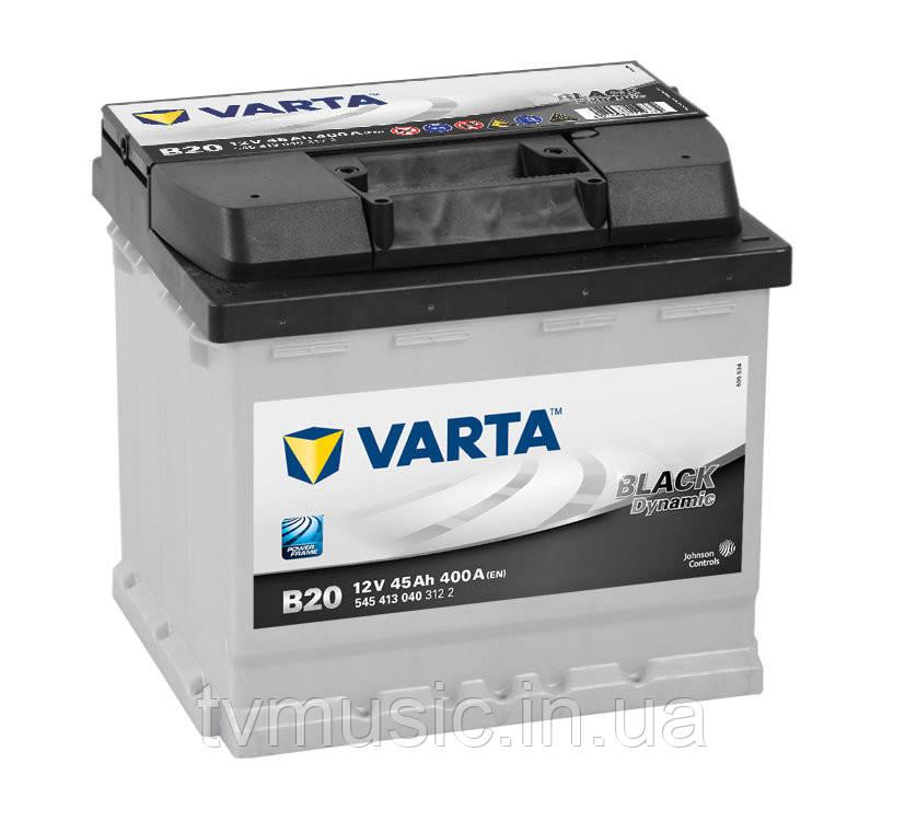 Аккумулятор Varta Black Dynamic B20 45Ah 12V (545 413 040)