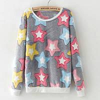 Мягкий женский свитер травка. Словно тысяча котят обнимают тебя!, фото 1