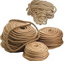 Джутовий канат (мотузка) діаметр 6мм, довжина 200м