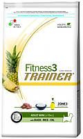 Корм для мини-собак Trainer Fitness3 Adult Mini Duck, Rice & Oil 0.8 кг