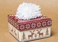 "Коробка ""Шапка"" новогодняя"