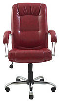 Кресло Альберто Хром Титан Бордо (Richman ТМ), фото 2