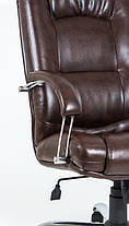 Кресло Альберто Хром Титан ДК Браун (Richman ТМ), фото 2