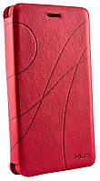 Чехол книжка для Lenovo S920 Oscar красный