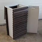 Уличная урна для мусора металлическая URBAN1, фото 2