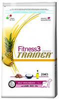 Корм для собак Trainer Fitness3 Adult Medium & Maxi Lamb, Rice & Oil 12.5 кг