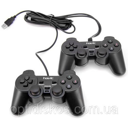 Игровой Манипулятор GAMEPAD HAVIT HV-G61 double, black