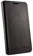 Чехол книжка для Lenovo S920 PA с пластиком черный
