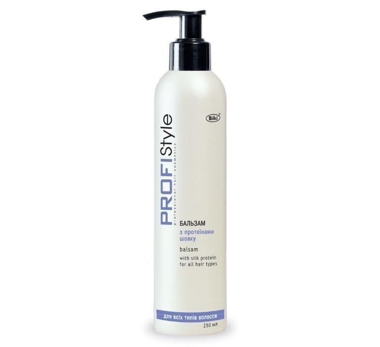 """PROFISTYLE Бальзам """"Протеины шелка"""" для всех типов волос 250 мл"""