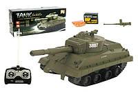 Танк на радиоуправлении. Стреляет снарядами.  Tank Battle Бесплатная доставка Укрпочтой