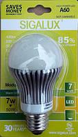 Led лампочка Sigalux A60 7W