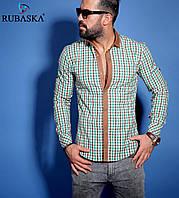 Оптовая цена! Мужская рубашка зеленого цвета
