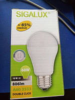 Led лампочка Sigalux 10W  Double-Сlick
