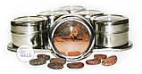 Набор пряностей для кофе в металлических спецовниках на подставке, 6 шт. по 15 грамм, фото 10
