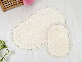 Набор ковриков для ванной Irya - Honey cream крем 60*100+40*60