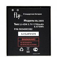 Батарея (АКБ, аккумулятор) BL3809 для Fly IQ458 Quad EVO Tech 2, 2000 mAh, оригинал