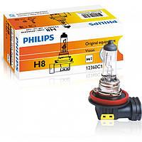 """Автомобильная галогенная лампа """"Philips"""" (H8)(12V)(35W)"""