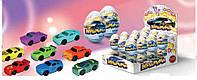 """Шоколадные яйца с игрушкой """" Машинки"""""""