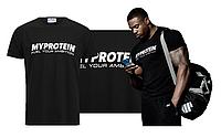 Футболка Myprotein T-Shirt (Черный)