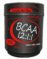 BCAA аминокислоты Activlab BCAA 12:1:1 (500 г)