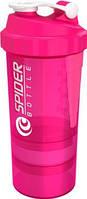 Шейкер Spider Розовый неон (500 мл)