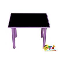 Детский столик меловой фиолетовый