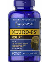 Препарат для регулирования нервных процессов Puritan's Pride Neuro-PS Gold (90 капс)