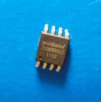 Winbond W25X80 25Q80BYSIG 1509 SPI SOIC8 Микросхема Flash BIOS (PARITY ERROR) флешка БИОСа прошивка