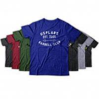 Футболка USPLabs Barbell Club T shirt (Различные цвета)