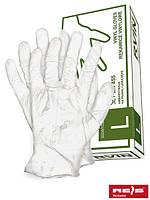 Перчатки медицинские виниловые Reis RVIN T(XL) (100шт)