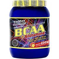BCAA аминокислоты FitMax BCAA + Glutamine (600 г)