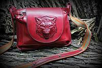 Кожаная сумка Livas
