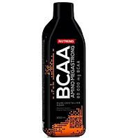 BCAA аминокислоты Nutrend AMINO BCAA Mega strong (1 л)