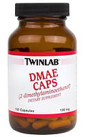 Активатор деятельности мозга Twinlab DMAE (100 капс)