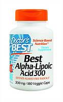Альфа-липоевая кислота Doctor's Best Alpha Lipoic Acid (300 мг) (180 капс)