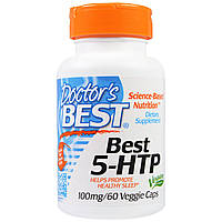 Антидепрессант Doctor's Best 5-HTP (100 мг) (60 капс)