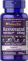 Антиоксидант Puritan's Pride Resveratrol 100 мг (60 капс)