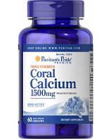 Витаминно-минеральный комплекс Puritan's Pride Coral Calcium 1500 мг (30 капс)