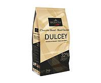 Шоколад  Valrhona Dulcey blond 32% белый Франция - 05225