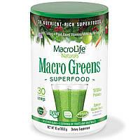 Витаминно-минеральный комплекс Macrolife naturals Macro Greens Antioxidant (30 порций)