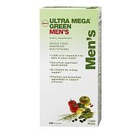 Мультивитаминный комплекс для мужчин GNC Ultra Mega Green Mens Multivitamin (120 таб)