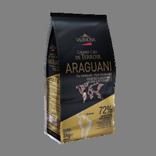 Шоколад  Valrhona Арагуани 72% чёрный Франция - 05227
