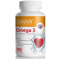 Комплекс незамінних жирних кислот Ostrovit Omega 3 (90 кап) (103337) Фірмовий товар!