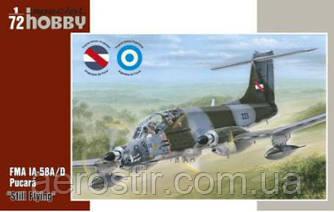 FMA IA-58A/D Pucara 1/72  Special Hobby 72288